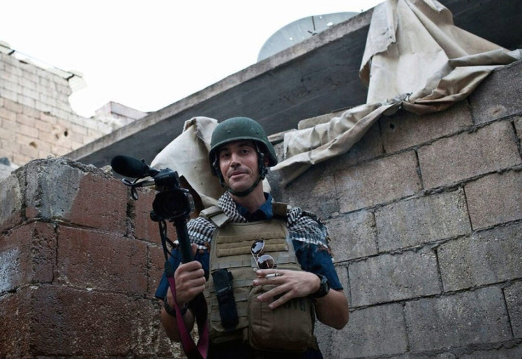 American journalist James Foley was murdered by ISIS militants. (Photo: Ropi/ZUMA Press/Newscom)