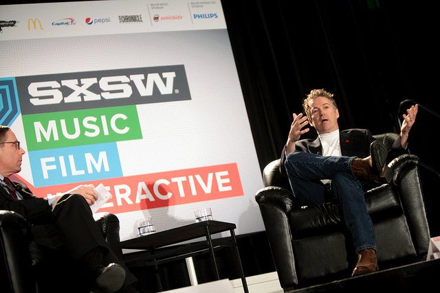 Paul sat down with the Texas Tribune's Evan Smith to talk about the future of tech policy at a Austin's South by Southwest Interactive Conference -- where thousands of flock to learn about technology and innovation. (Photo: Gage Skidmore)