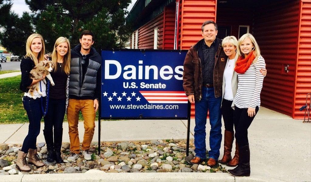 (Photo: Steve Daines for Montana)
