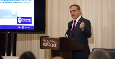 President-elect Donald Trump picked David Shulkin, an internist and top official at the Department of Veterans Affairs, to lead the VA. (Photo: Veterans Health Administration/Flickr)