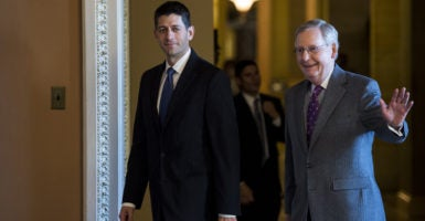 Republican leaders are using a budget tool called reconciliation to repeal Obamacare. (Photo: Bill Clark/CQ Roll Call/Newscom)
