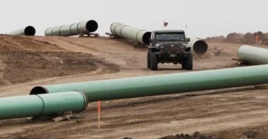 President Barack Obama declined to give TransCanada, the company building Keystone XL, the necessary cross-border permit needed to complete the pipeline in 2015. (Photo: Josh Morgan/Reuters/Newscom)