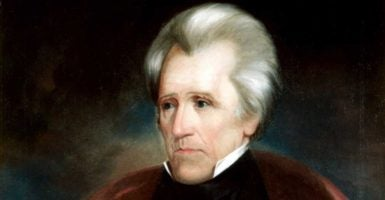 """Andrew Jackson was the seventh president of the United States and a proponent of """"rotation in office."""" (Photo: Pictures From History/Newscom)"""
