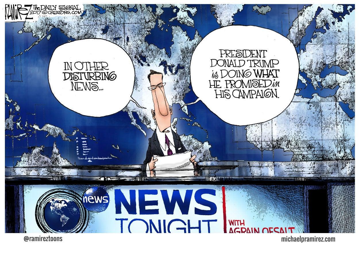 news political cartoons fading
