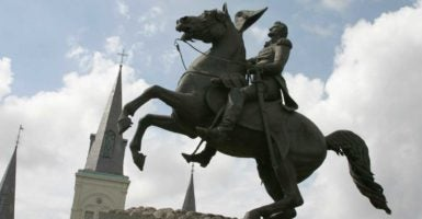 President Andrew Jackson never defied the Supreme Court, according to historians. (Photo: Ellen Creager/MCT/Newscom)