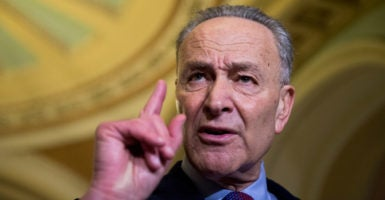 Senate Minority Leader Chuck Schumer, D-N.Y., is one of 12 Democrats who voted for Neil Gorsuch's confirmation in 2006. (Photo: Bill Clark/CQ Roll Call/Newscom)