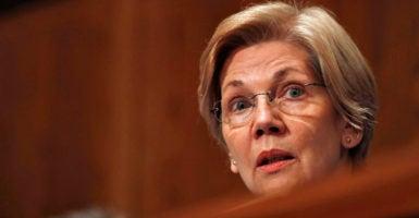 Sen. Elizabeth Warren (Photo: Erik Lesser/EPA/Newscom)