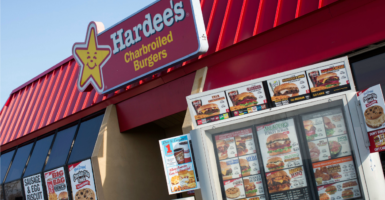 A former Hardee's employee is arguing her years of work without a raise show why Andy Puzder is a problematic pick for labor secretary. (Photo: Kris Tripplaar/Triplaar Kristoffer/SIPA/Newscom)