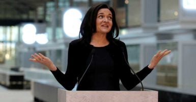 Facebook COO Sheryl Sandberg caused a stir by donating $1 million to Planned Parenthood.(Photo: Philippe Wojazer /Reuters/Newscom)