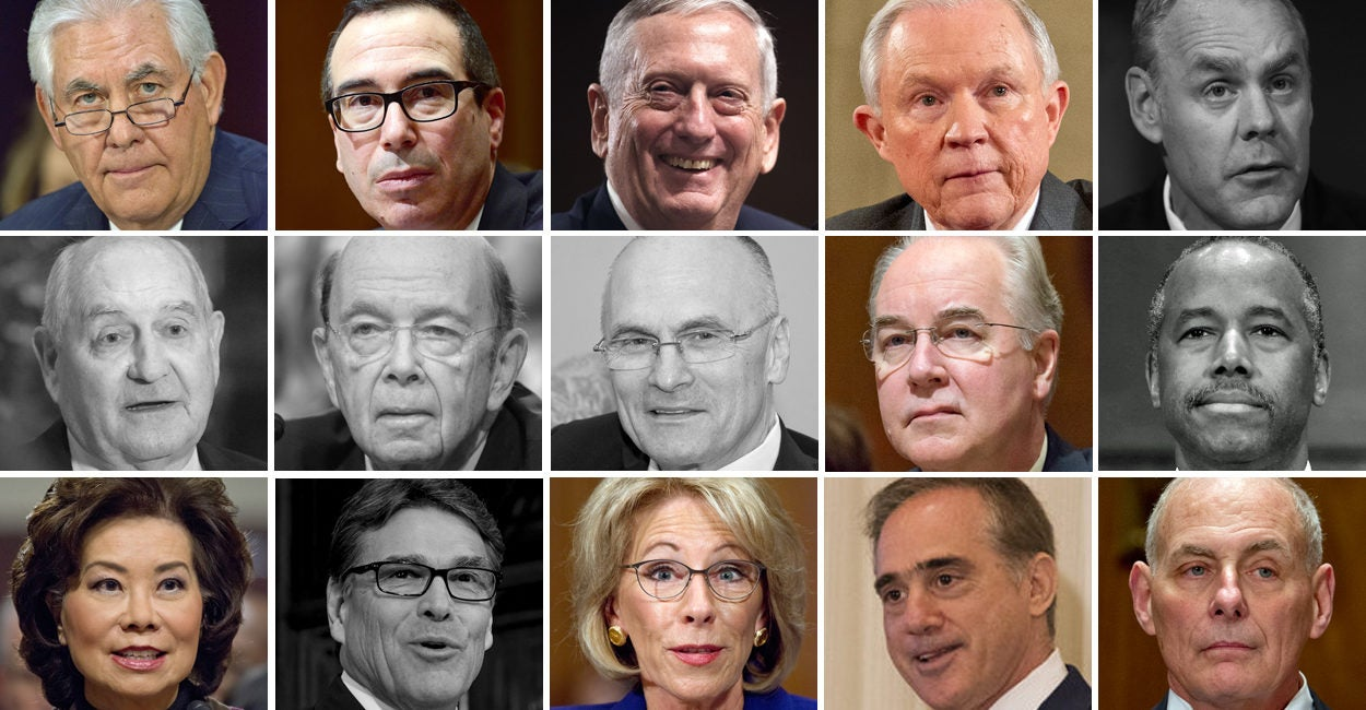 Trump Has Fewest Cabinet Secretaries Confirmed Since 1789