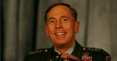 President Donald Trump is reportedly considering retired Gen. David Petraeus to take over as the new national security adviser. (Photo: Chris Zuppa /ZUMApress/Newscom)