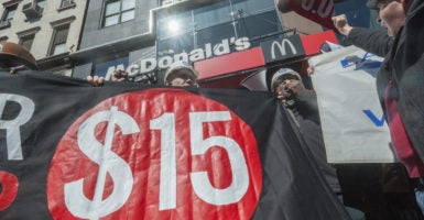 Several states and cities have passed legislation raising the minimum wage to $15 an hour. (Photo: Richard B. Levine/Newscom)