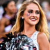 A Mississippi State Bulldogs cheerleader before the team's 27-14 win Sept. 10, 2016, over the South Carolina Gamecocks at Davis Wade Stadium in Starkville, Mississippi. Starkville is part of the state's booming Golden Triangle. (Photo: Andy Altenburger/Icon Sportswire/Newscom)