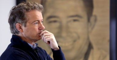 Sen. Rand Paul, R-Ky., criticized Republican leaders for keeping the Obamacare replacement proposal secret. He attempted to find the legislation that will ultimately repeal and replace Obamacare, but has so far been unsuccessful. (Photo: Scott Morgan/Reuters/Newscom)
