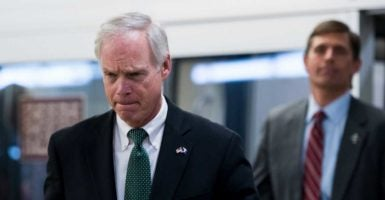 Sen. Ron Johnson, R-Wis., says a new approach to tackling radical Islamic terrorism comes from accepting reality. (Photo: Bill Clark/CQ Roll Call/Newscom)