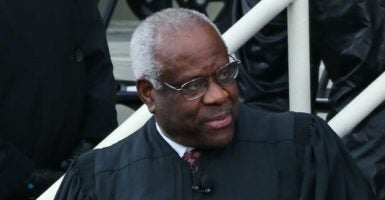 Justice  Clarence Thomas says civil asset forfeiture laws have extended well beyond historic precedent. (Photo: Anthony Behar/Sipa USA/Newscom)