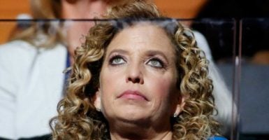Rep. Debbie Wasserman Schultz, D-Fla., resigned from her DNC post in the wake of WikiLeaks posting damaging internal emails from the DNC. (Shawn Thew/EPA/Newscom)