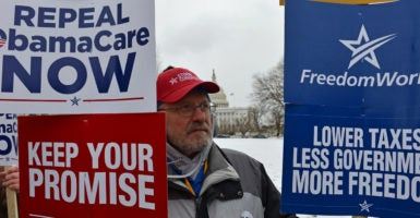 Conservative lawmakers are crafting an amendment to the House GOP's Obamacare replacement plan they believe will unite the Republican conference. (Photo: Jay Mallin/ZUMA Press/Newscom)