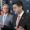 House Speaker Paul Ryan, R-Wis., told reporters House Republicans would move forward with their plan to repeal and replace Obamacare despite the failure of the GOP's health care bill, the American Health Care Act. (Photo: Michael Reynolds /EPA/Newscom)