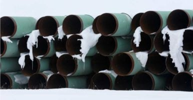 Environmentalist groups filed a lawsuit Monday against the Keystone XL pipeline project. (Photo: Terray Sylvester / Reuters/Reuters/Newscom)