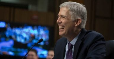 Judge Neil Gorsuch will succeed the late Antonin Scalia on the Supreme Court after his confirmation by a 54-45 vote. (Photo: Jeff Malet Photography/Newscom)