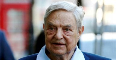 Liberal billionaire George Soros teamed up with USAID to boost left-wing causes in Macedonia.  (Photo: Luke MacGregor/Reuters /Newscom)
