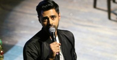 The White House Correspondents' Association will feature the comedian Hasan Minhaj at the group's fundraising dinner—the biggest annual event for D.C. political journalists. (Photo: David Alan Kogut/Polaris/Newscom)
