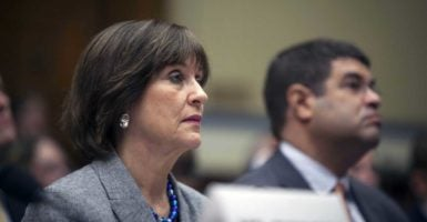 Lois Lerner, a central figure in the IRS tea party targeting scandal, resigned in 2013 after a number of Republicans called for her removal from the agency.(Photo: U.S. Congress/Zuma Press /Newscom)