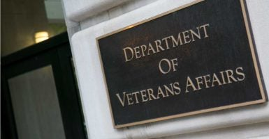 The headquarters of the Department of Veterans Affairs in downtown Washington, D.C. (Photo: Kris Tripplaar/Sipa USA/Newscom)