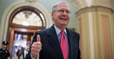 Sen. Mitch McConnell was among those sued over the Senate's refusal to hold a vote on former President Barack Obama's Supreme Court nominee, Merrick Garland.  (Photo: Tom Williams/CQ Roll Call/Newscom)