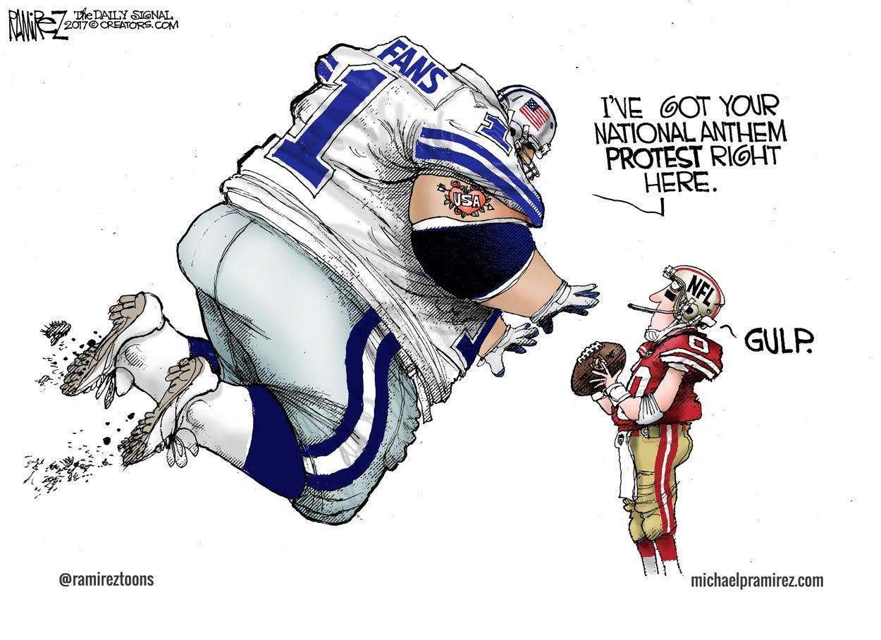 Cartoon Football Follies
