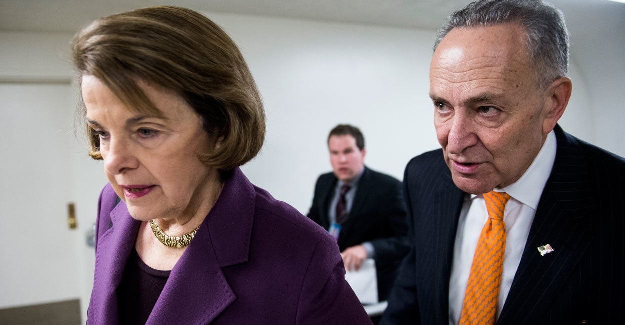 In Past Years, Feinstein, Schumer Said Nominee's Judicial Record Most  Important