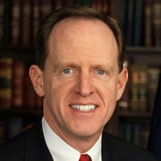 Portrait of Sen. Pat Toomey