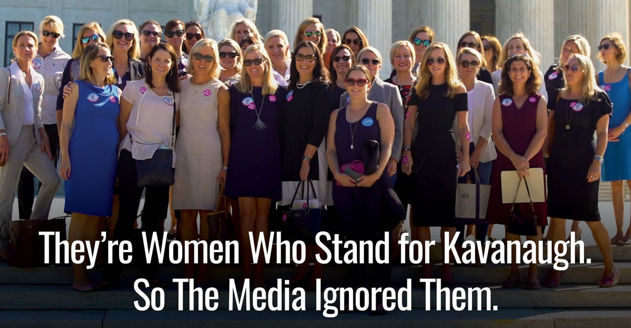 They're Women Who Support Kavanaugh. So the Media Ignored Them.