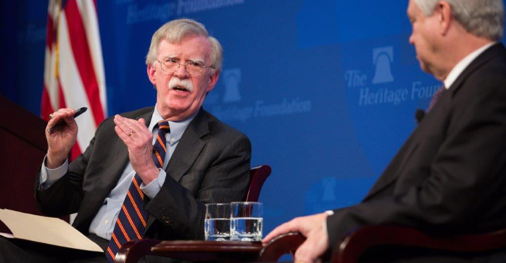 John Bolton: US Must Curb China, Russia Influence in Africa