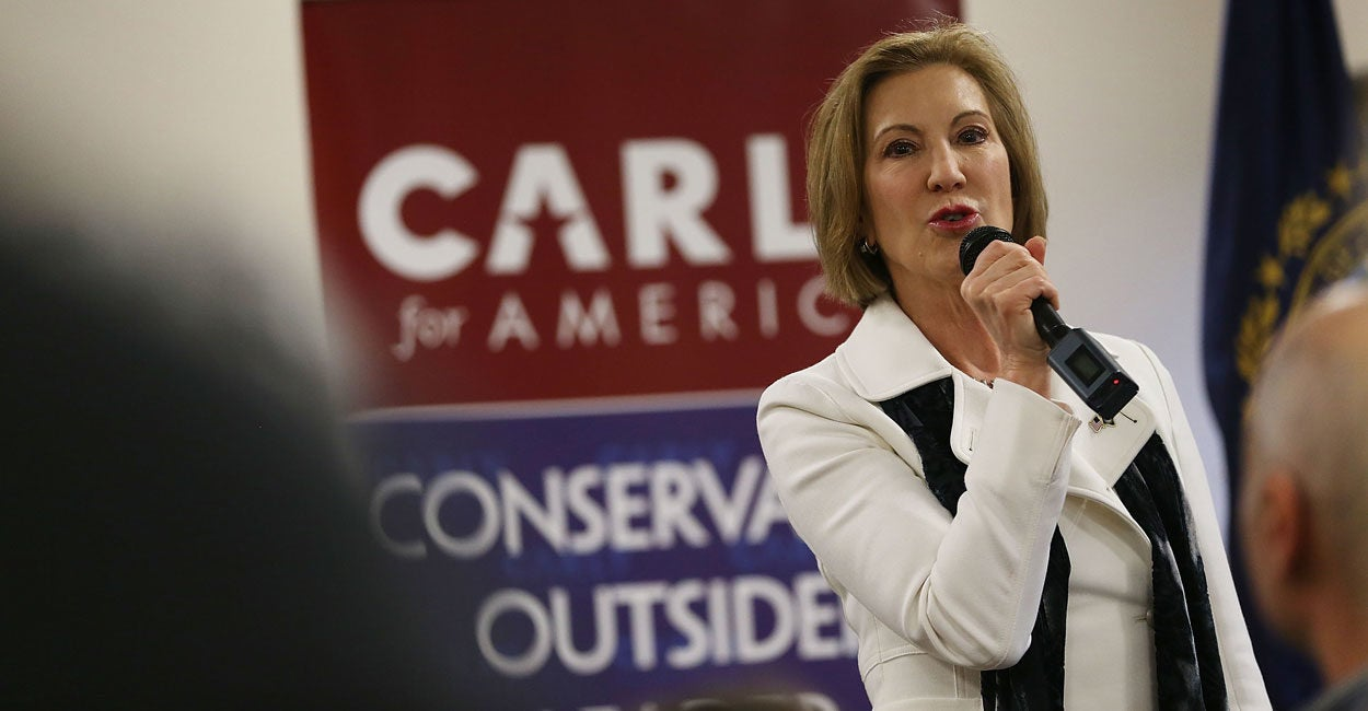 Want to Be a Leader? Carly Fiorina's Advice for Unlocking Your Highest Potential