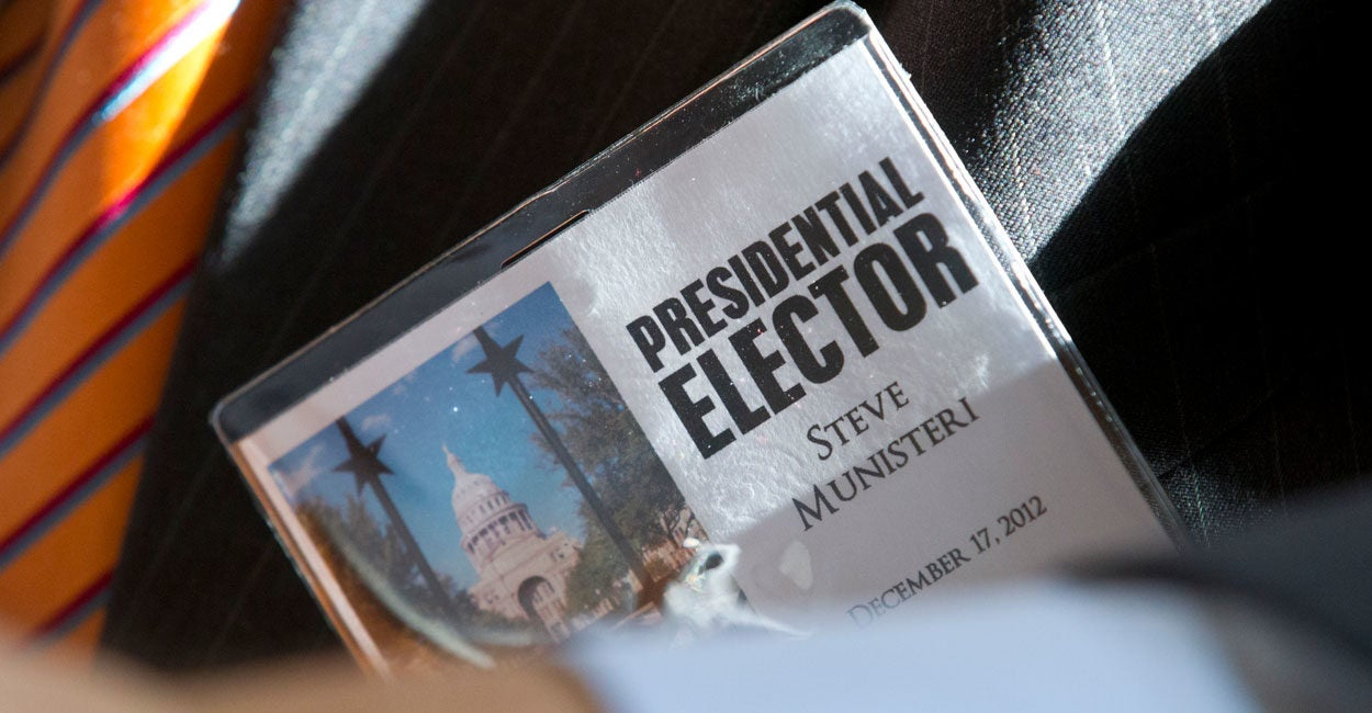 Electoral College Opponents Attempt to Have It Both Ways