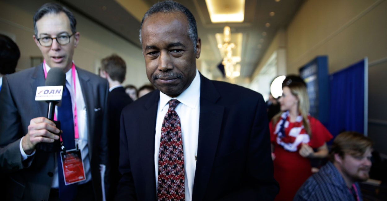 Carson Hounded by Open Borders Liberals for Putting Americans First