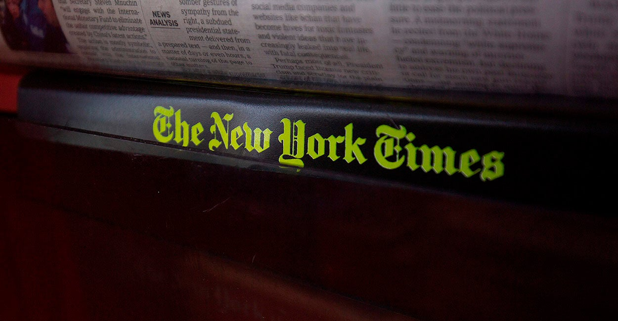The New York Times Works for the Left, and Now Everyone Should Know It