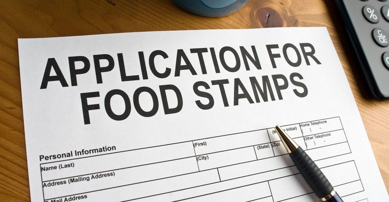 graphic relating to Printable Food Stamp Application titled Earlier mentioned 6 Million People in america Eliminate Off Meals Stamps Underneath Trump