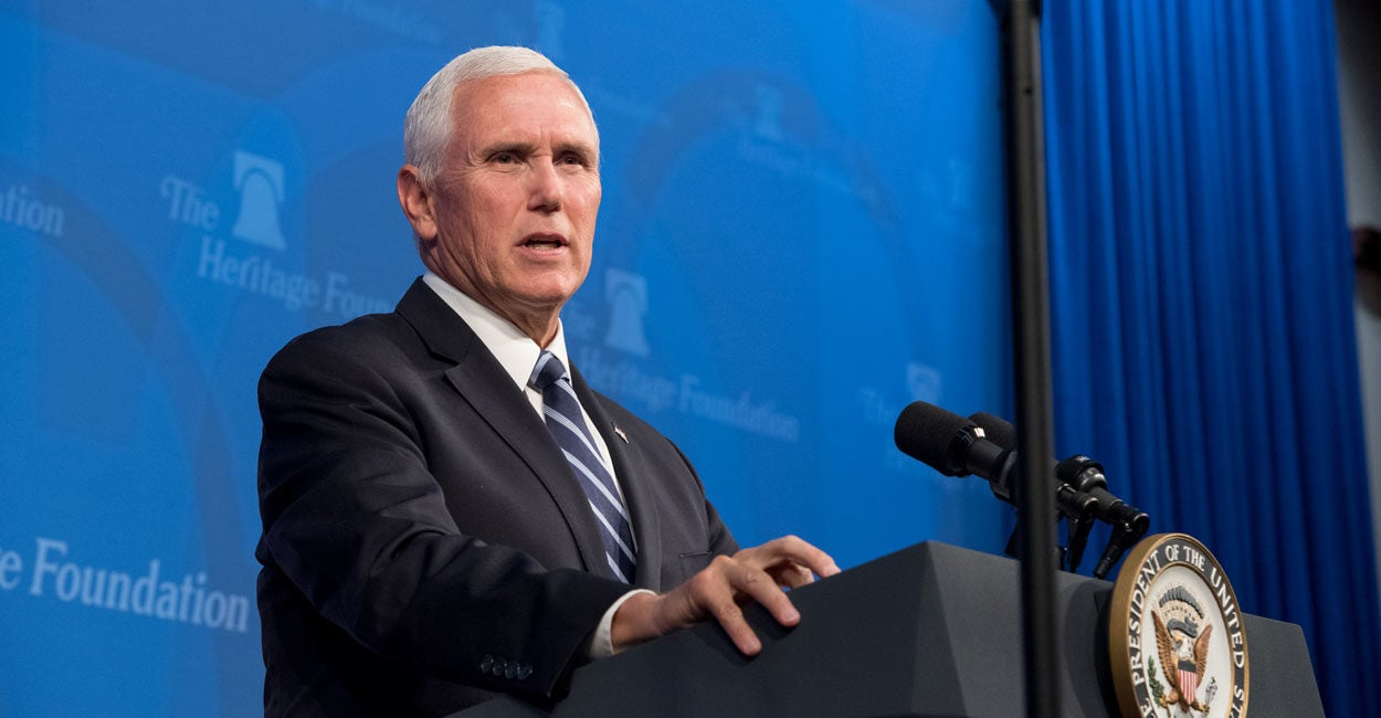 Pence Says Striking Auto Workers, GM Should Unite Behind Trade Deal