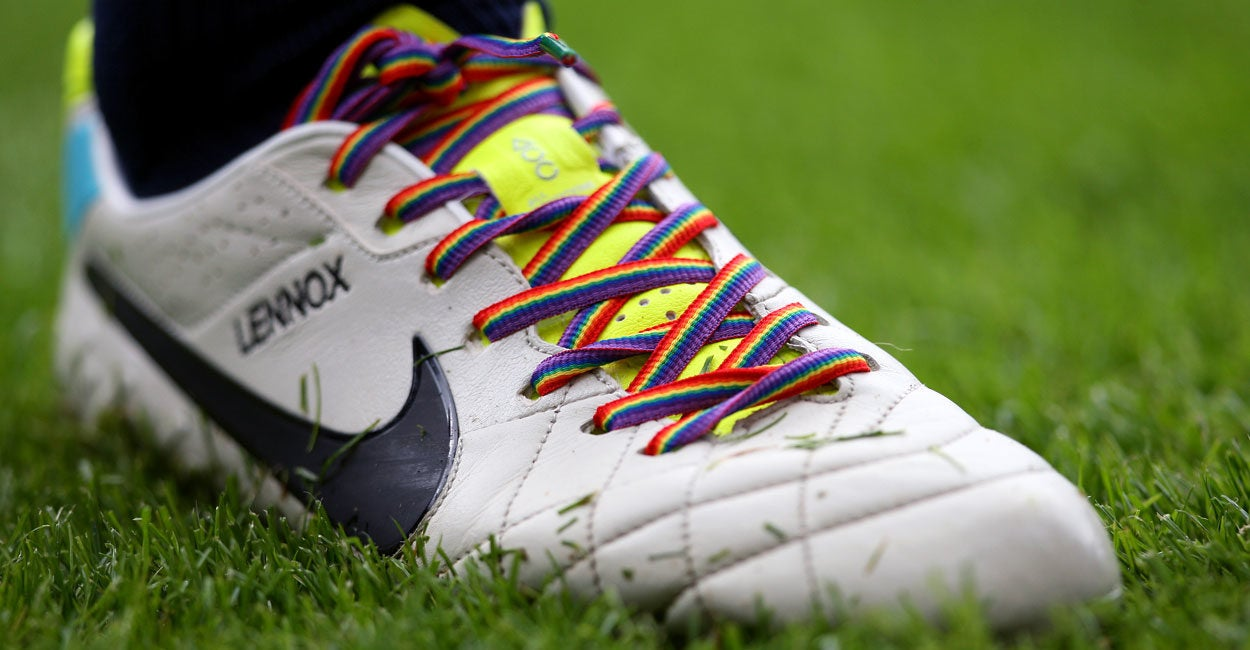 Coming to a Soccer Team Near You: Rainbow Shoelaces