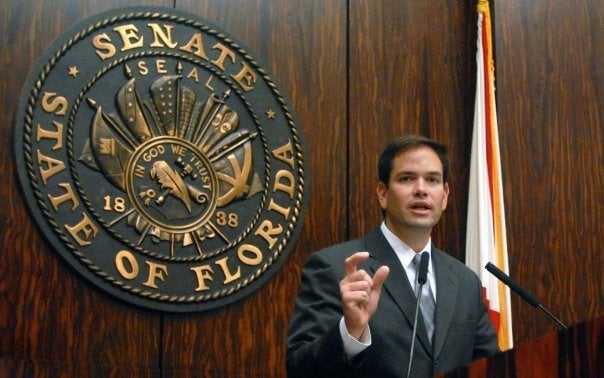 Rubio was elected to the Florida House of Representatives in 2000, and represented the 111th district. (Photo: Marco Rubio Facebook)