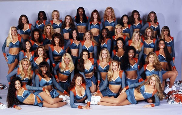 The 1997 Miami Dolphins cheerleading squad. (Photo: dolphinscheerleaders.com)