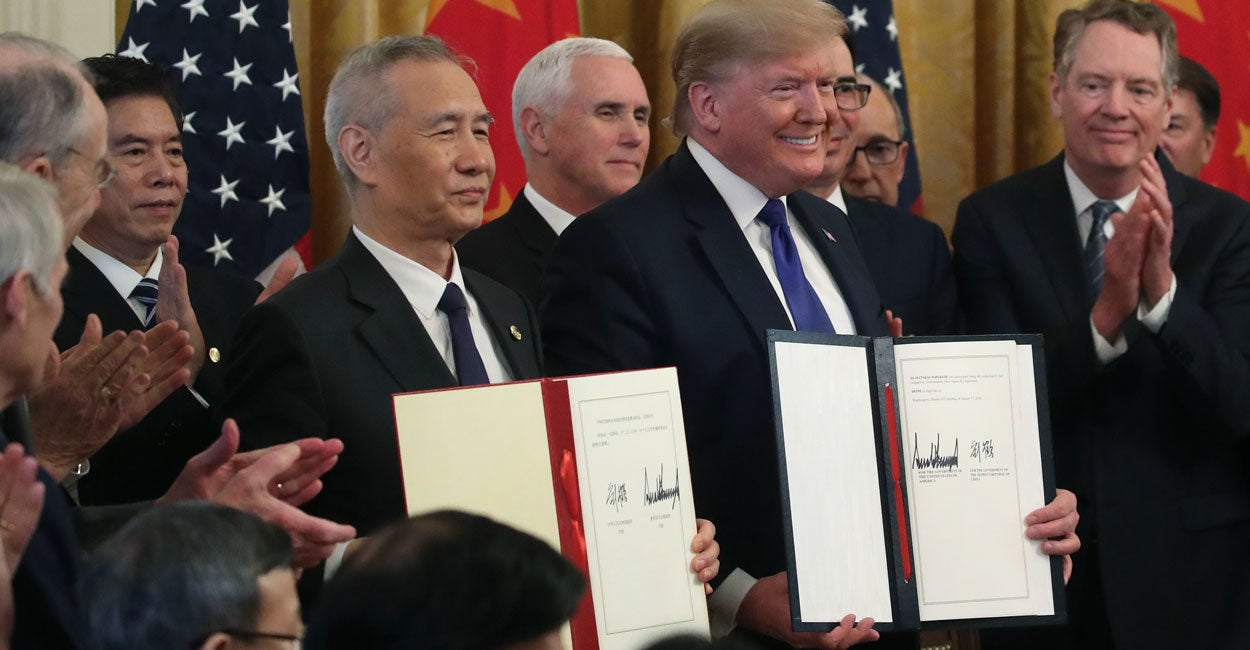 US-China Trade Deal Is a Welcomed First Step