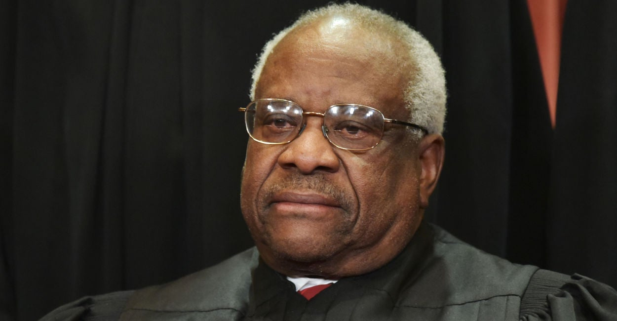 Clarence Thomas Says New Ethics Rule Will 'Silence' Federalist Society