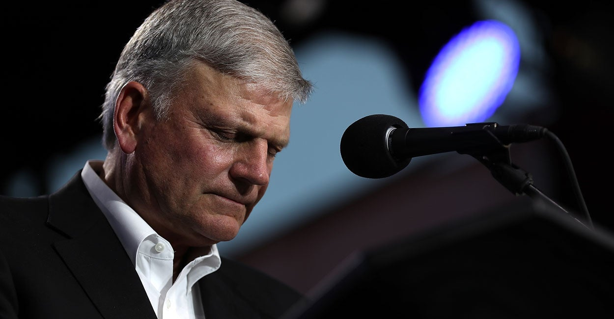 Banned in Britain: Franklin Graham's Dates Canceled for Christian Beliefs