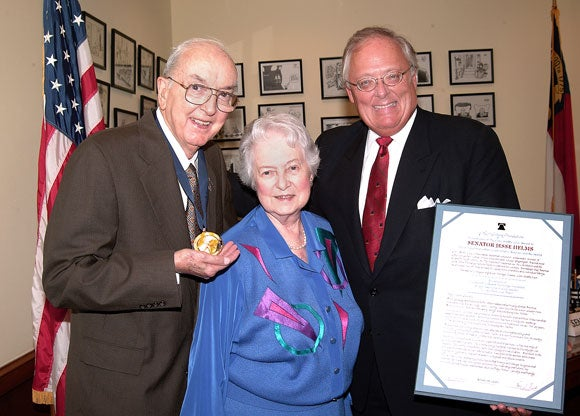 "Jesse Helms Awarded Heritage Foundation's ""Highest Honor"" for Service to U.S."