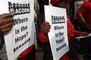ACORN Received $31 Million in Government Funding Since 1998