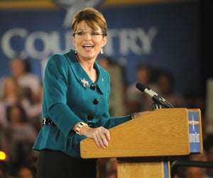 Sarah Palin (Photo by Newscom)